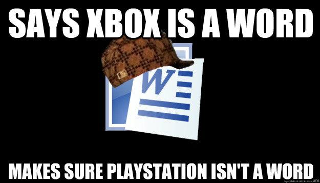 Scumbag Microsoft Word memes quickmeme
