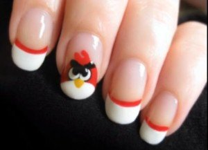 How To Do Angry Birds Nail Art Videos