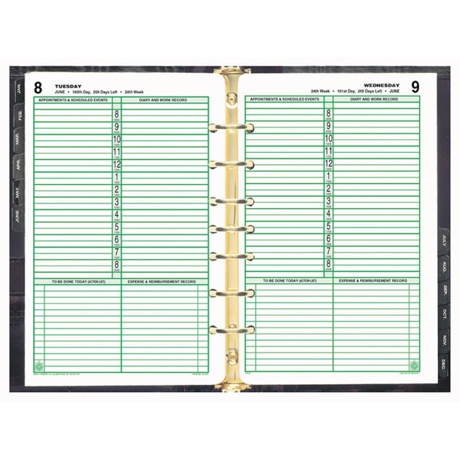 Day-Timer Planner Refill - 550\ - day planner