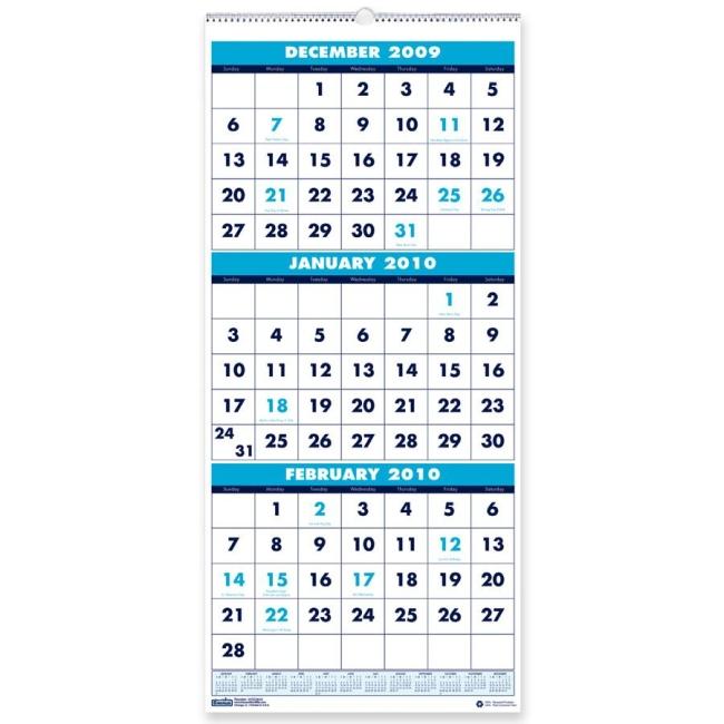 House of Doolittle Vertical Wall Calendar - 1225\