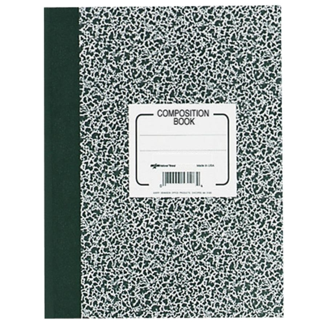 Rediform National College Ruled Composition Book - 80 Sheets - 1 - Print College Ruled Paper