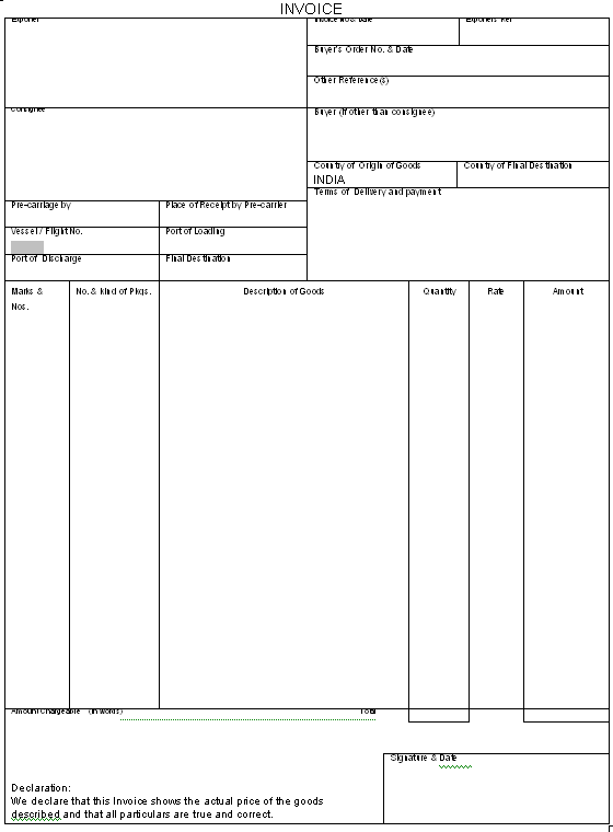 blank invoice template australia | cover letter sample for job, Invoice examples