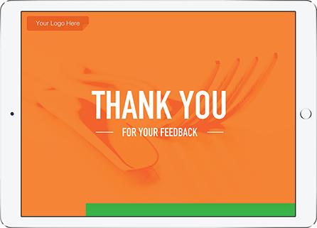 Restaurant Feedback Survey Template QuickTapSurvey