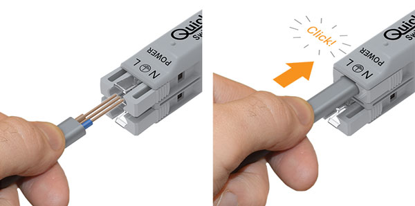 Quickwire - The revolutionary prewired, maintenance free junction box