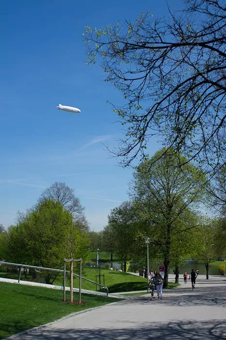 Zeppelin en Munich