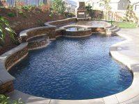 Free Form Pool Designs Ideas - Quiet Corner