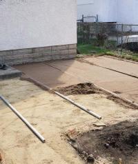 DIY How To Lay a Level Brick Paver Patio - Quiet Corner