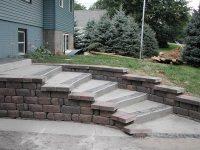 Retaining Wall Design Ideas - Quiet Corner