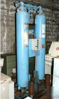 Hankison 260 scfm desiccant compressed air dryer