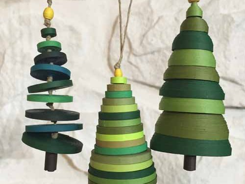 Paper Quilling Christmas Tree Ornaments Tutorial