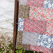 Liberty Of London summery quilt
