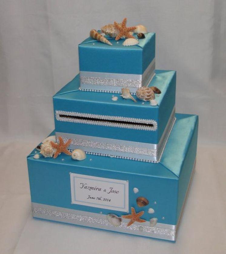 Beach Theme Home Decor Shadow Box Beach Gift: Creative Card Box Ideas For Quinceaneras