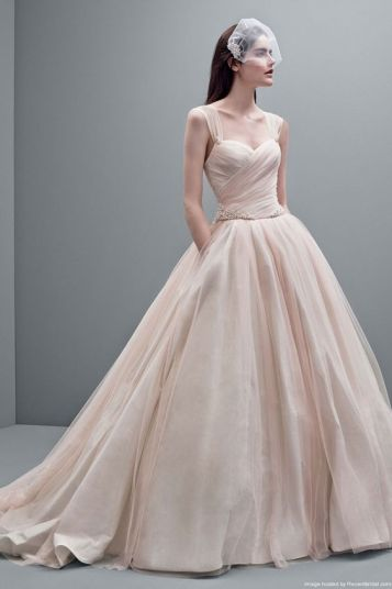 blush vera wang dress-min