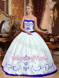 The gallery for --> Quinceanera Dresses Royal Blue And White