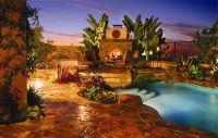Pool-garden-fireplace-ultimate-swimming-pool-quinju.com ...