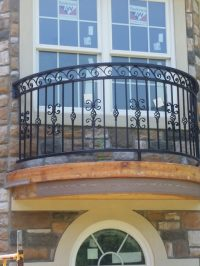 Balcony Railing. Elegant Balcony Railing Design Images