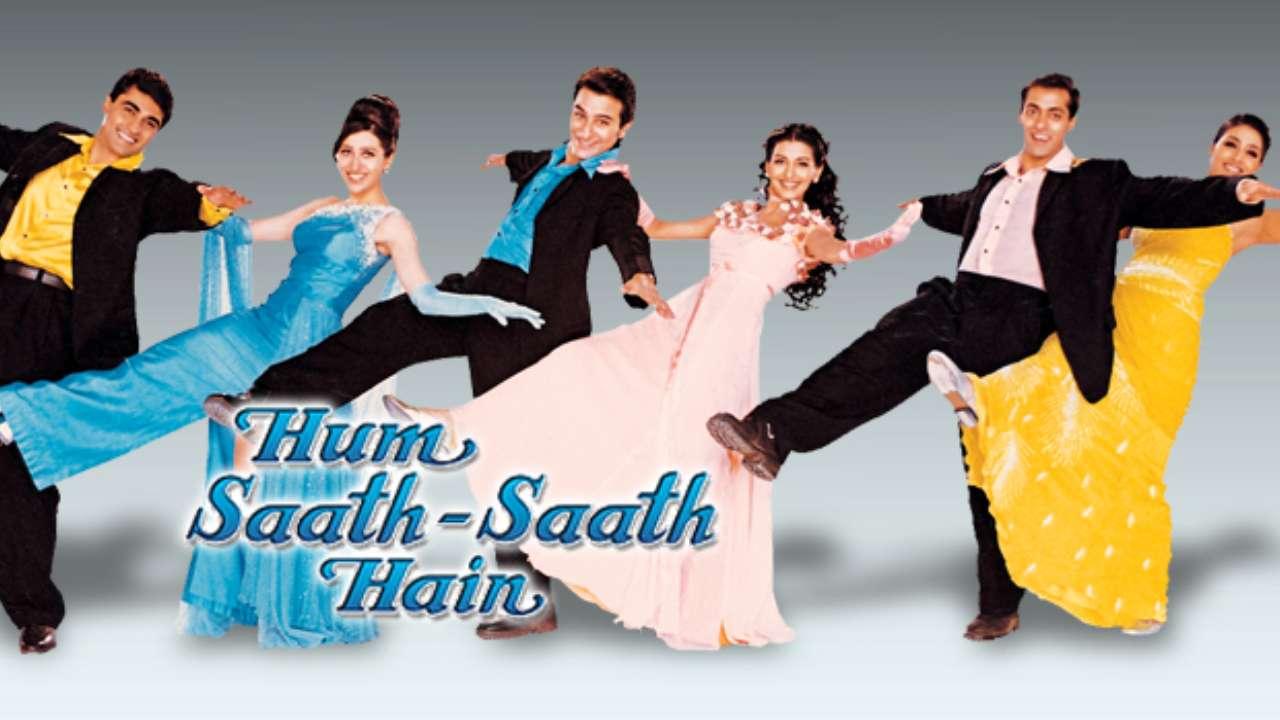 Saif Ali Khan Hd Wallpaper Hum Sath Sath Hai Full Movie Download In 720p Hd Bluray