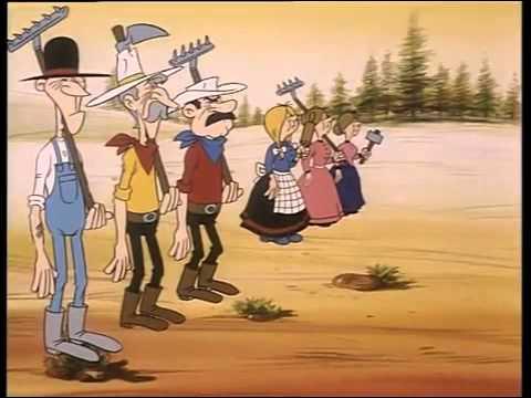 Comment étaient les fils sur la prairie de Lucky Luke ?