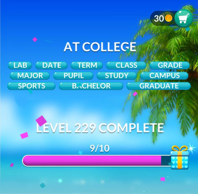 Word Stacks Level 229 Answers » Qunb