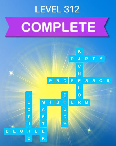 Word Slices Level 312 College Answers » Qunb