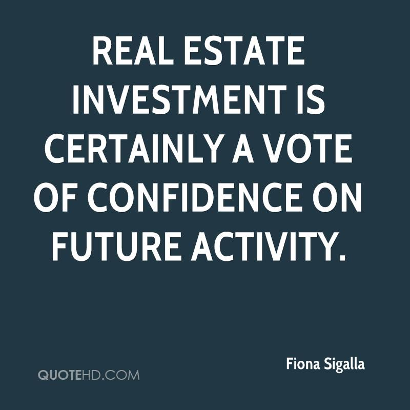 Fiona Sigalla Quotes QuoteHD - real estate quotation