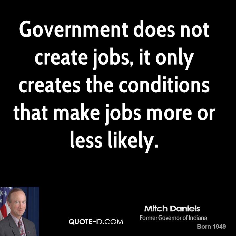 Mitch Daniels Government Quotes QuoteHD