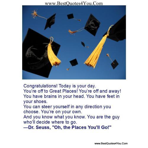 Medium Crop Of College Graduation Quotes