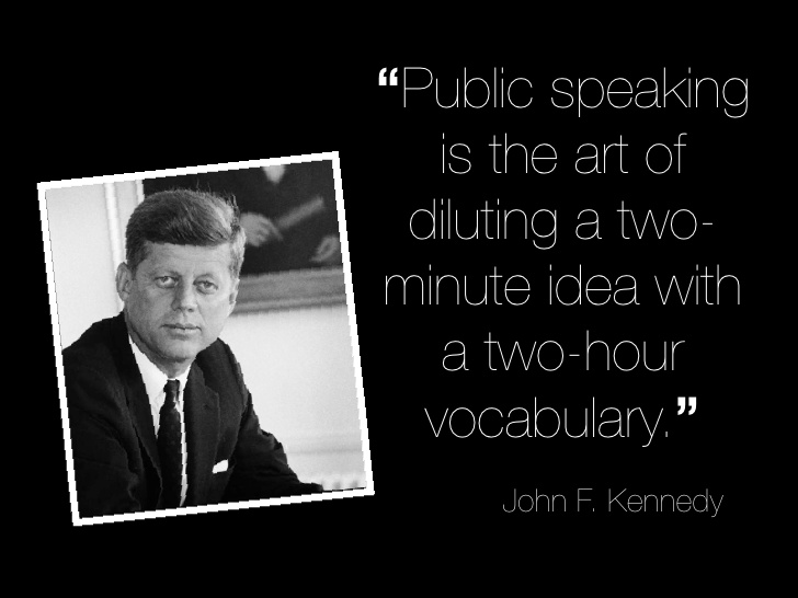 Quotes about Speaking in public (78 quotes)