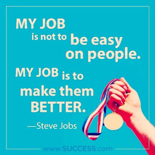 Quotes about Job evaluation (13 quotes)
