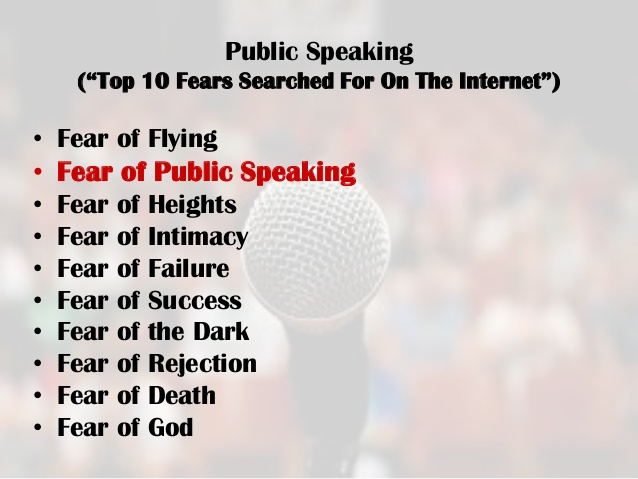 Quotes about Public speaking anxiety (17 quotes)