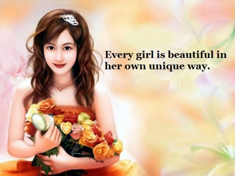 Wallpaper With Quotes Attitude Best Ever Beautiful Girl Quotes And Sayings With Images