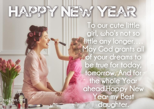 36 happy new year 2019 wishes for daughter with love images happy new year