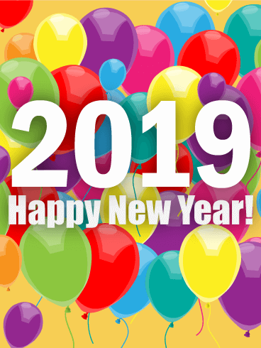 Fb Cute Wallpaper 50 Happy New Year Cards 2019 With Images Greeting Ecards