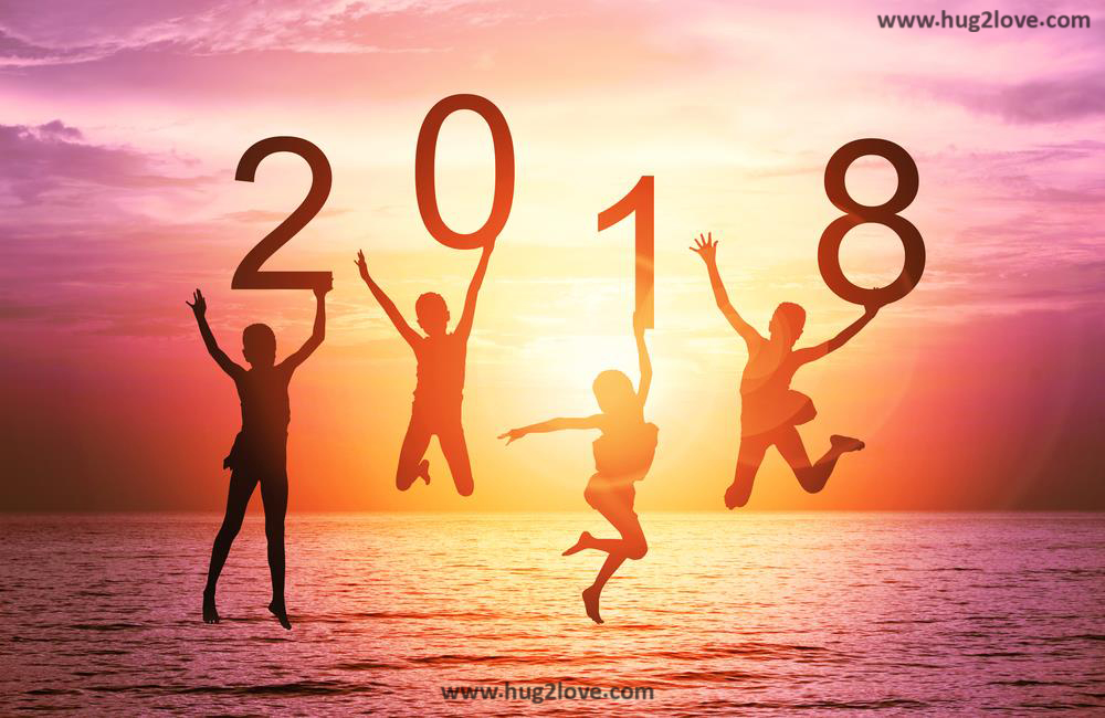 50 Happy New Year 2018 Background Images in HD - Happy New Year 2018