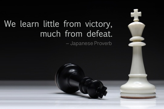 Break Up Wallpapers With Quotes Hd We Learn Little From Victory Much From Defeat Japanese