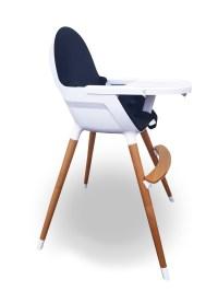 Kinderstoel Hi Chair Zwart - Kees - Quper Babywinkel