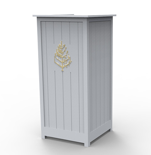 Outdoor Podiums Valet, Greeting, Hostess, Bellman, Lecterns with Logo