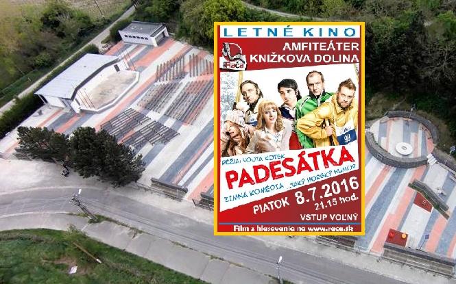 Letné kino v Rači premietne ako prvý titul českú komédiu Padesátka už 8. júla
