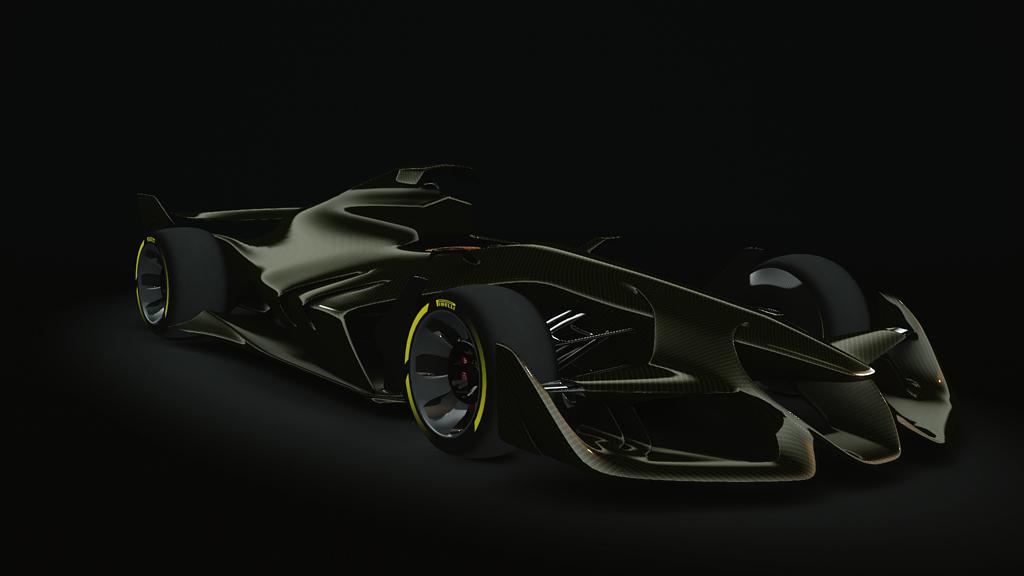 Car Wallpapers With Names Golden Carbon Ferrari F1 Concept Skin Racedepartment