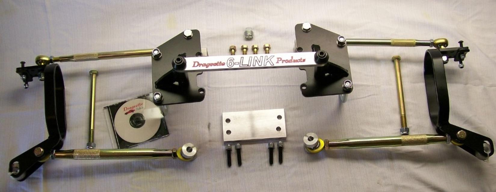 Dragvette 6 Link Suspension System 1963 79