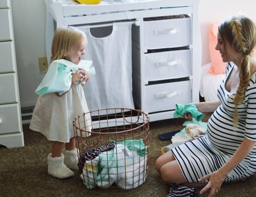 Getting your newborn wardrobe ready by Rachael Burgess