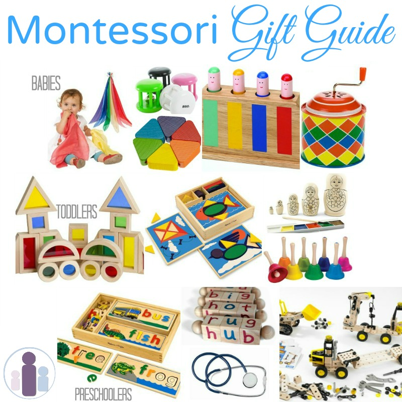 Toddler Toys Physical Toys : Montessori gifts for babies toddlers and preschoolers