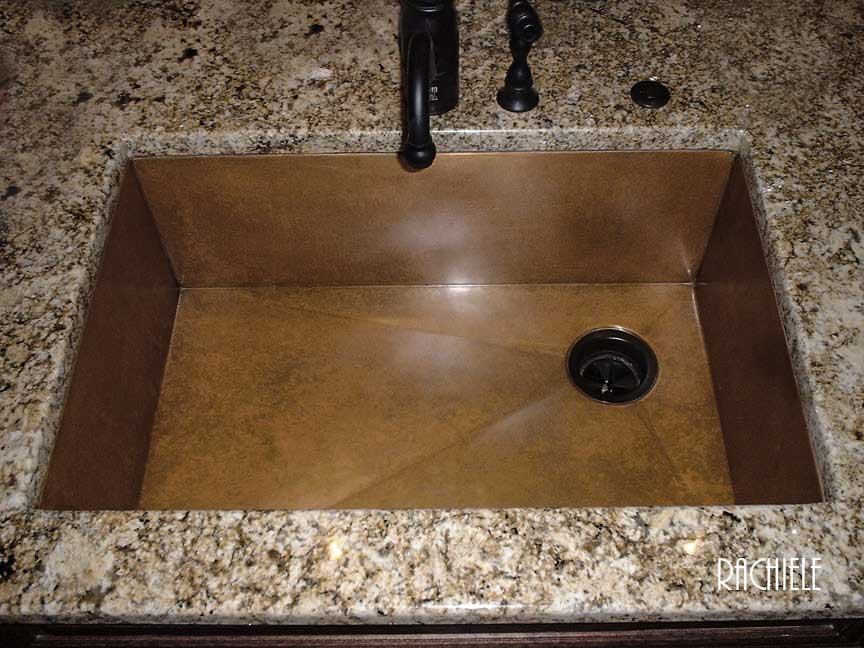 Copper Under Mount Sinks By Rachiele Made In Usa