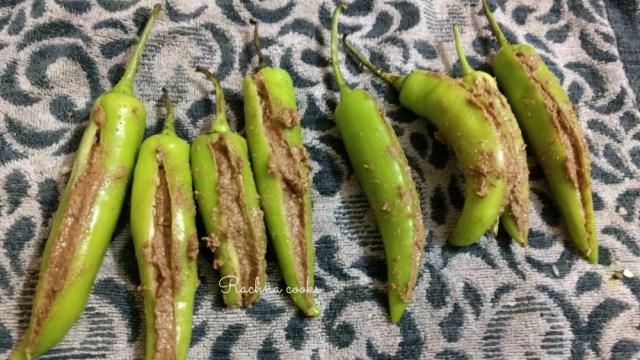 mirchi bhajiya recipe