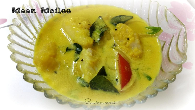 Fish in Coconut Milk Curry | Meen Moilee