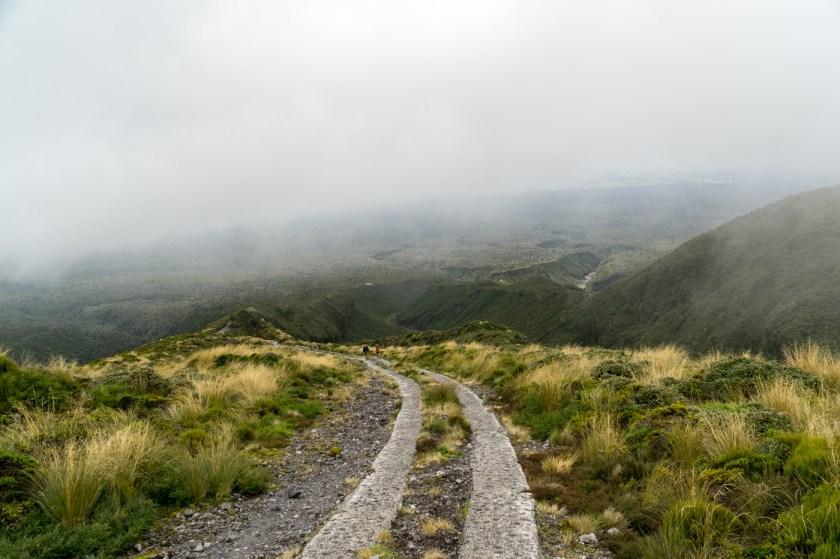 Abstieg Mt Taranaki