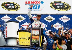 2012 New Hampshire July NASCAR Sprint Cup Kasey Kahne Victory Lane