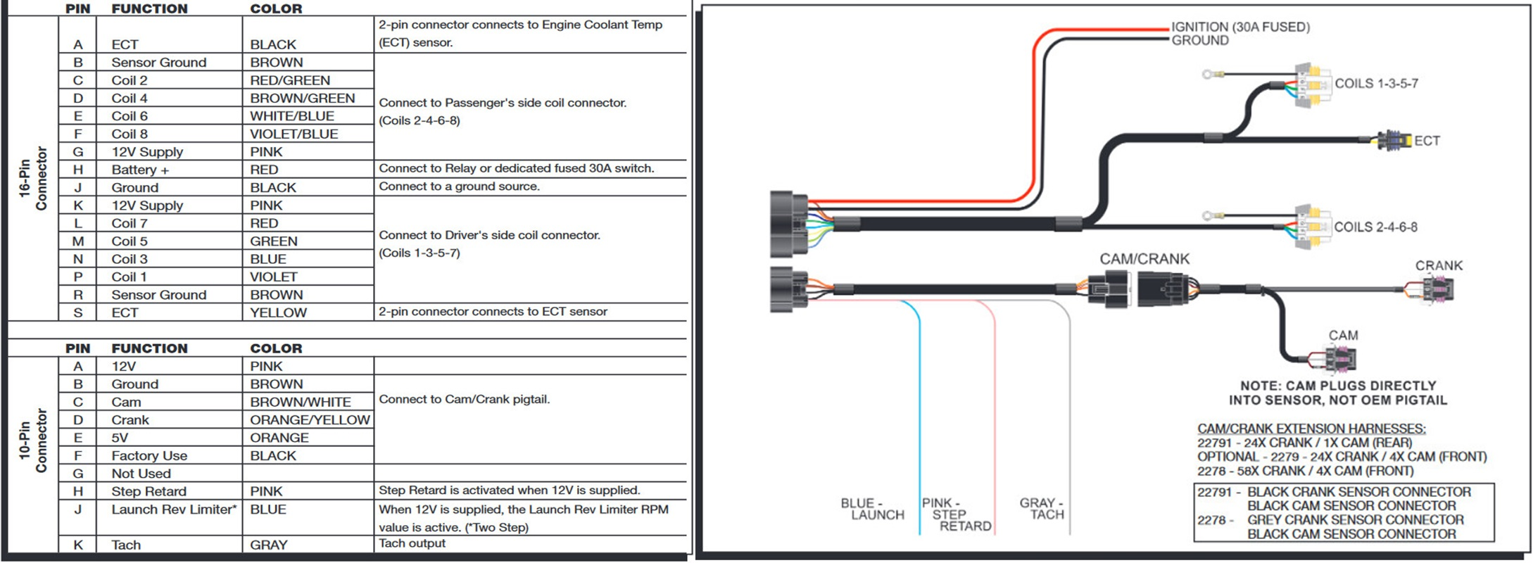 msd wiring diagram race