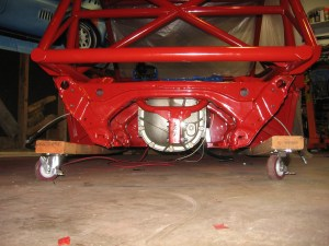 Rear Subframe installed