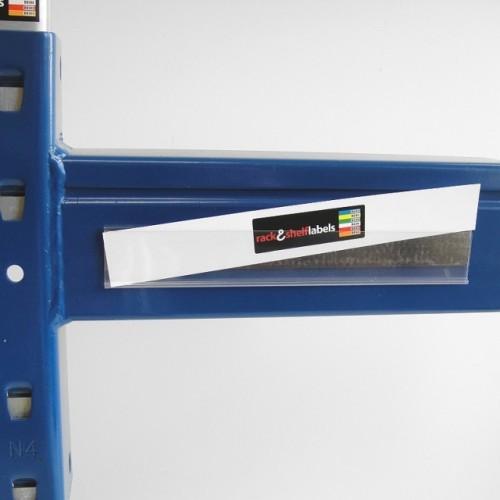 Plastic Magnetic Label Holders 26mm X 200mm Rack Shelf